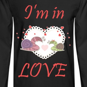 I am in LOVE couple - Men's Long Sleeve T-Shirt
