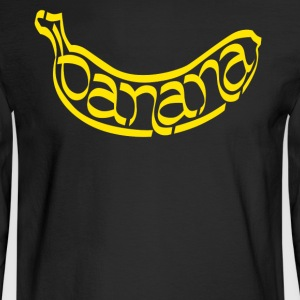 I Love Banana Shirt - Men's Long Sleeve T-Shirt