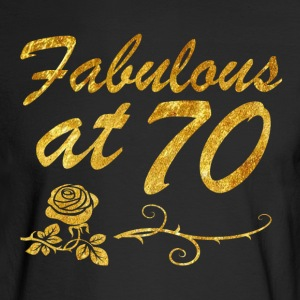 Fabulous at 70 years - Men's Long Sleeve T-Shirt