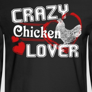 Chicken Lover T shirt - Men's Long Sleeve T-Shirt