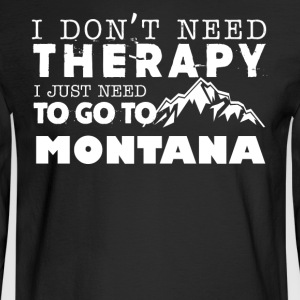 Montana Therapy Shirt - Men's Long Sleeve T-Shirt