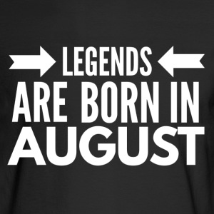 Legends Born August - Men's Long Sleeve T-Shirt