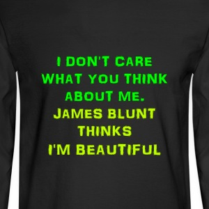 I am beautiful - Men's Long Sleeve T-Shirt