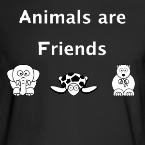 Animals are Friends - Men's Long Sleeve T-Shirt