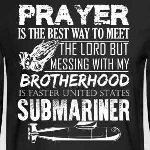 Submariner Prayer Shirt - Men's Long Sleeve T-Shirt