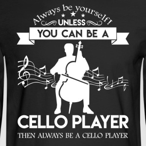 Cello Players Shirts - Men's Long Sleeve T-Shirt