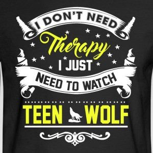 Watch Teen Wolf - Men's Long Sleeve T-Shirt