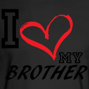 I_LOVE_MY_BROTHER - Men's Long Sleeve T-Shirt