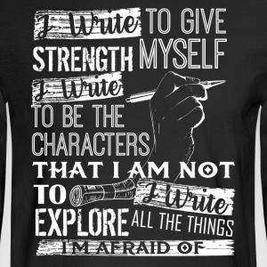 Writer Shirt - Men's Long Sleeve T-Shirt