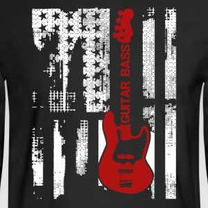 Electric Guitar Flag Shirt - Men's Long Sleeve T-Shirt