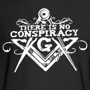 There Is No Conspiracy - Men's Long Sleeve T-Shirt