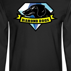 diamond dogs - Men's Long Sleeve T-Shirt