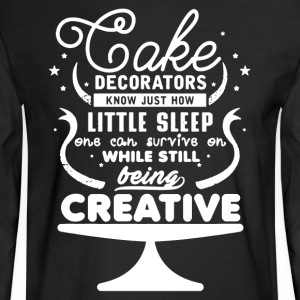 Cake Decorators Shirt - Men's Long Sleeve T-Shirt