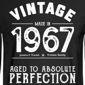 Funny 50th Birthday Present: Vintage 1967 T-Shirt - Men's Long Sleeve T-Shirt