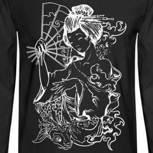 Japanese Geisha - Men's Long Sleeve T-Shirt