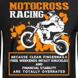 Motocross Racing Shirt - Men's Long Sleeve T-Shirt