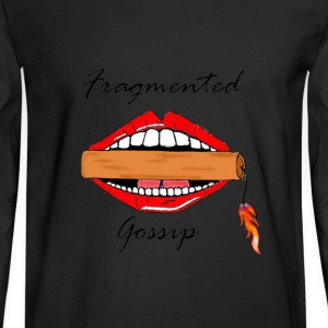 Fragment Gossip - Men's Long Sleeve T-Shirt