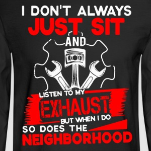 Mechanic Neighborhood - Men's Long Sleeve T-Shirt