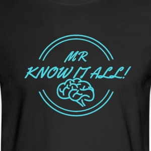 MR KNOWITALL - Men's Long Sleeve T-Shirt