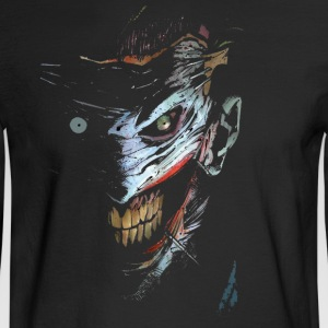 Joker Ghost Face - Men's Long Sleeve T-Shirt