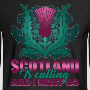 SCOTLAND IS CALLING AND I MUST GO SHIRT - Men's Long Sleeve T-Shirt