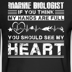Marine Biologist Shirt - Men's Long Sleeve T-Shirt