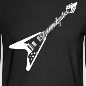Electric Guitar Tee - Men's Long Sleeve T-Shirt