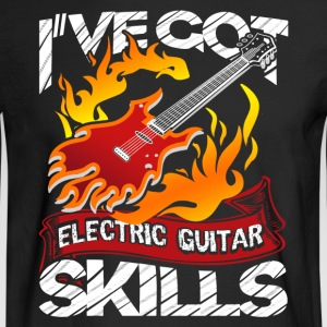 ELECTRIC GUITAR DESIGNS SHIRT - Men's Long Sleeve T-Shirt