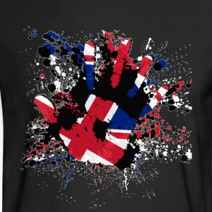 Union Jack Splatter - Men's Long Sleeve T-Shirt