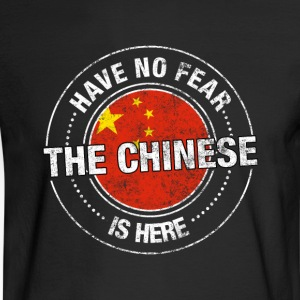 ChineseHave No Fear The Chinese Is Here - Men's Long Sleeve T-Shirt