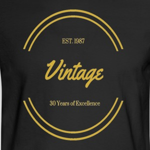 1987 Vintage Excellence - Men's Long Sleeve T-Shirt