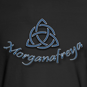 Morganafreya Celtic Knot Icon - Men's Long Sleeve T-Shirt