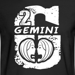 GEMINI GIRL TEE SHIRT - Men's Long Sleeve T-Shirt
