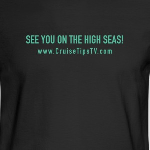 See you on the high Seas- basic design - Men's Long Sleeve T-Shirt