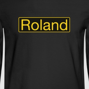 Roland gold - Men's Long Sleeve T-Shirt