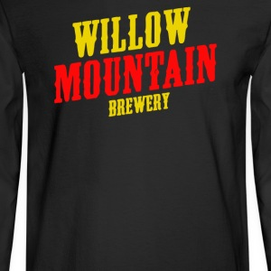 Willow mountain brewery - Men's Long Sleeve T-Shirt