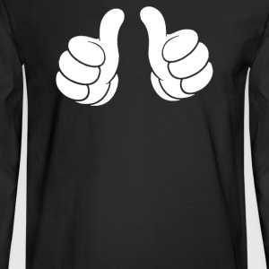 Thumbs Up Two - Men's Long Sleeve T-Shirt