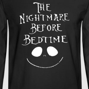 The Nightmare Before Bedtime - Men's Long Sleeve T-Shirt