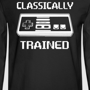Trained Classically - Men's Long Sleeve T-Shirt