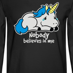Sad unicorn - Men's Long Sleeve T-Shirt