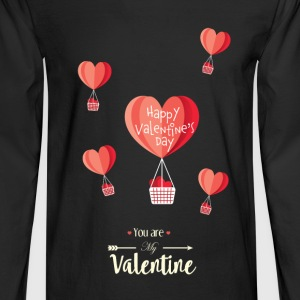 Happy Valentines Day - Men's Long Sleeve T-Shirt