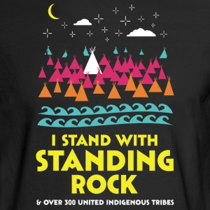 Stand With Standing Rock Shirt - Men's Long Sleeve T-Shirt