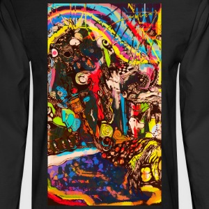 abstract - Men's Long Sleeve T-Shirt