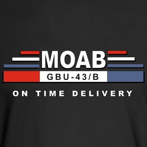 MOAB- Mother Of All Bomb - Men's Long Sleeve T-Shirt