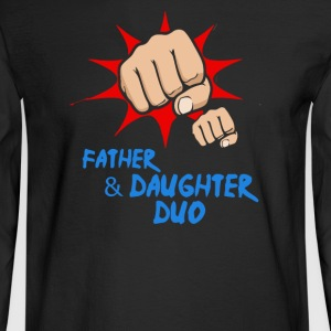 Father Daughter Duo Daddy - Men's Long Sleeve T-Shirt