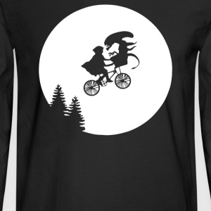 Moon Alien Predator - Men's Long Sleeve T-Shirt