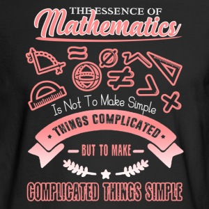 The Essence Of Mathematics Shirt - Men's Long Sleeve T-Shirt