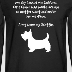 Along Came Scottie Inspirational - Men's Long Sleeve T-Shirt