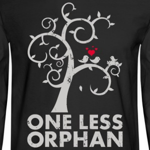 One Less Orphan - Men's Long Sleeve T-Shirt