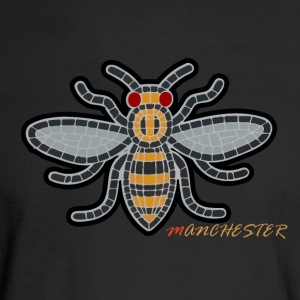 Manchester Bee - Men's Long Sleeve T-Shirt